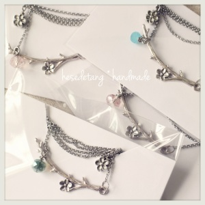 the Silver Garden Necklace range